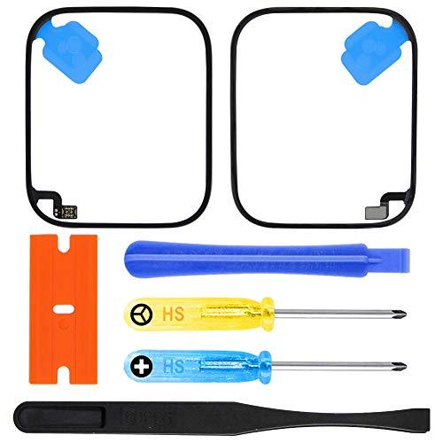 MMOBIEL Kit de Reparación Sensor de Fuerza táctil, Adhesivo, Compatible con Apple Watch Series 5 44mm GPS y GPS + Cellular Edition