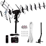 [Newest 2020] Five Star Outdoor Digital Amplified HDTV Antenna - up to 200 Mile Long...