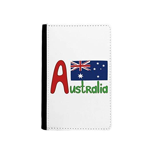 beatChong Australien Nationalflagge Rot-Blau-Muster-Pass-Halter Travel Wallet Abdeckungs-Fall Karten-Geldbeutel