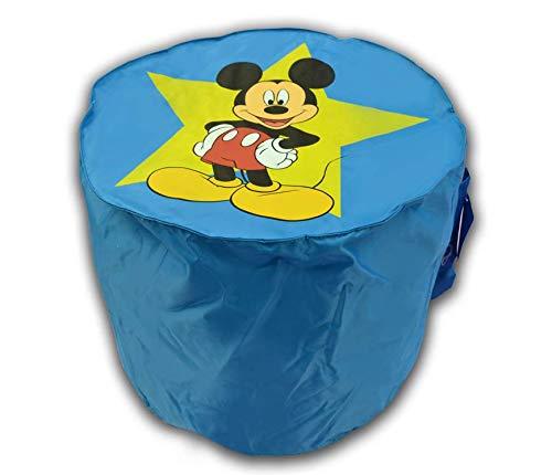 Pouf Mickey Mouse Disney bleu ø 45cm