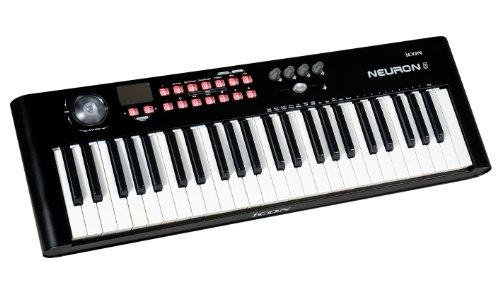 iCON Neuron 5 MIDI-Controller/Keyboard 49 Tasten schwarz