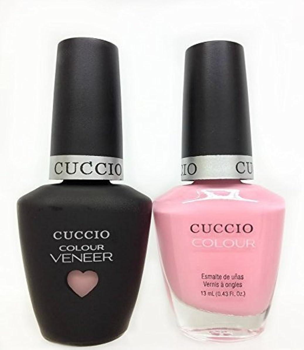 期限眠るはがきCuccio MatchMakers Veneer & Lacquer - Pinky Swear - 0.43oz / 13ml Each
