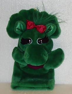 "11"" Dinosaur Baby Bop Hand Puppet; Plush Stuffed Toy; a Barney the Dinosaur Item"