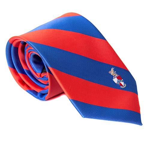 Beta Theta Pi Fraternity Necktie Tie Greek Formal Occasion Standard Length Width beta (Striped Crest Necktie)