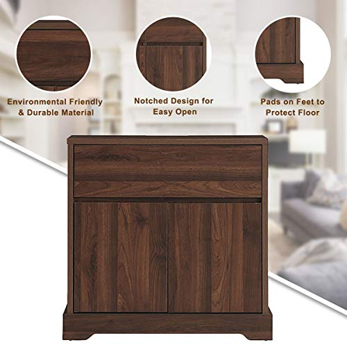 Giantex-Buffet-Sideboard-Storage-Console-Table-with-2-Drawers-and-2-Cabinets-Buffet-Server-Cupboard-for-Kitchen-Dining-Room-Living-Room-Entryway-Walnut