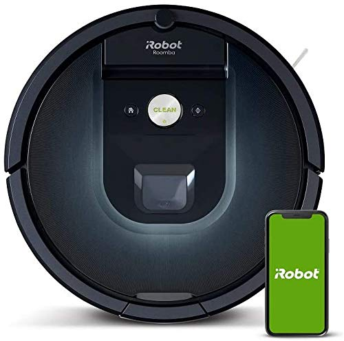 iRobot Roomba 981 Robot aspirapolvere WiFi, Power-Lifting, 2 spazzole...