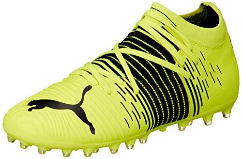Puma Future Z 3.1 MG JR, Zapatillas de fútbol, Yellow Alert Black White, 38 EU