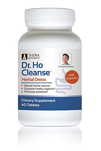 Dr. Ho Herbal Detox with Probiotics | Reduce Toxins and Impurities | Helps Cleanse Your Colon, Kidney, Bladder & Urinary Tract | Safe and Natural Supplements for Men and Women