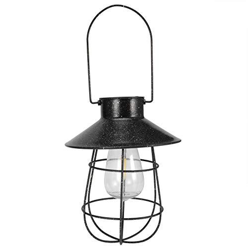 Emoshayoga Luz Colgante Solar portátil de la decoración de la luz de la Linterna Solar del LED para el hogar