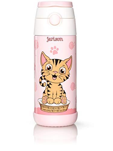 Jarlson® Borraccia Bambini Acciaio Inox, Bottiglia Termica, Senza BPA, Bottiglia Acqua...