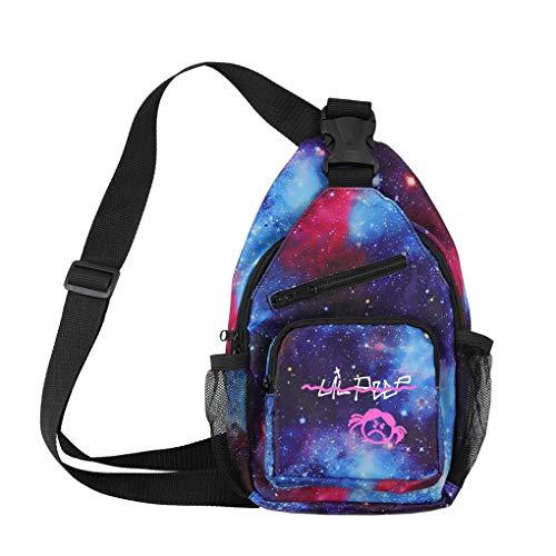 KFMB Lil Peep Messenger Bag Moda Imprimir Bolsa de Hombro Bolsa de Viaje de Ocio (4)