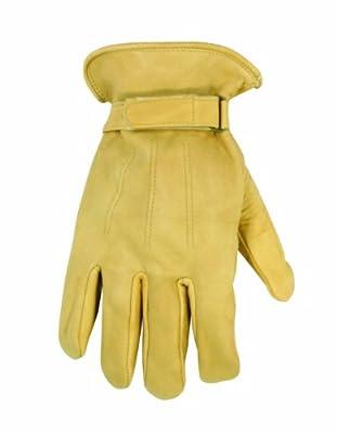 Custom Leathercraft Top Grain Cowhide Work Gloves