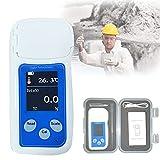 HIMABeauty ATC Digital Refractómetro, Refractómetro Anticongelante con Función Calibración de Punto Cero y Compensación de Temperatura 10-40℃ para Agua Parabrisas Automóvil