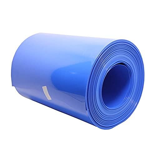 ATEYC Tubo Termorretráctil, Tubo Termorretráctil De PVC De 2M Funda De Cable Termorretráctil Azul para Paquete De Batería De Litio 18650 Funda Aislante Tubo Termorretráctil Muchos Tamaños