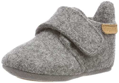 Bisgaard Unisex-Kinder 11200999 Niedrige Hausschuhe, Grau (Grey 70), 22 EU