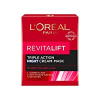 L'Oreal (ロレアル) Revital' Ribaitarifutoトリプルアクションナイトクリーム50ml x 1