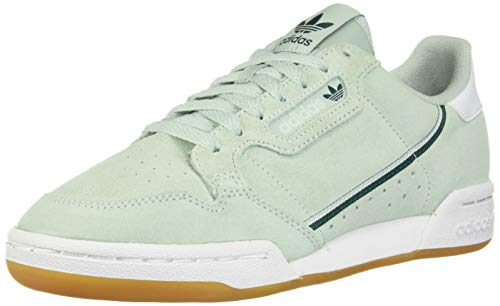 adidas Originals Continental 80, Zapatillas para Mujer, Vapour Green Ice Menta Blanco, 37.5 EU