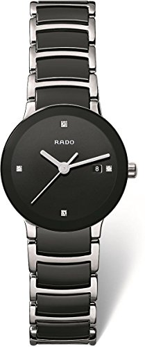 RADO Centrix - R30935712 Two-Tone Black/Silver One Size