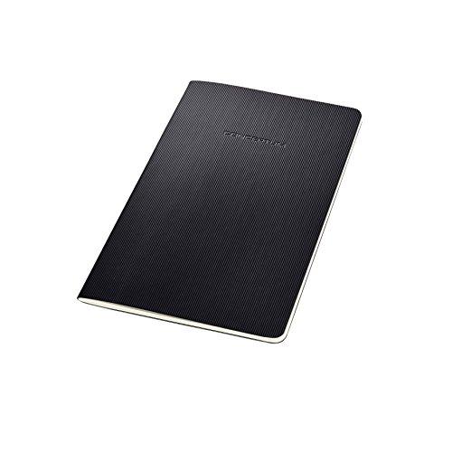 SIGEL CO863 Cuaderno de notas, 13.5 x 21 cm, a líneas, Softcover, schwarz, Conceptum
