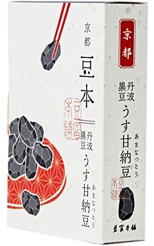 【豆富本舗】豆本(うす甘納豆丹波黒豆) 65g入