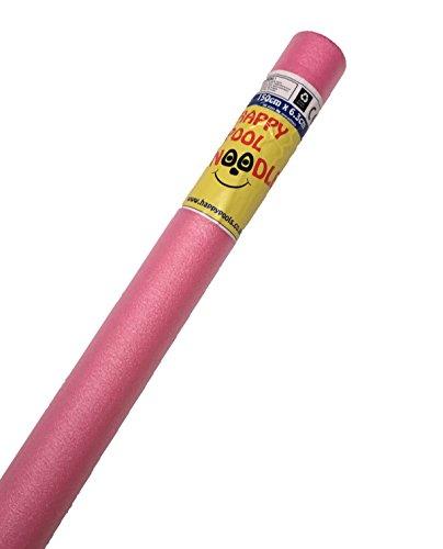Happy Hot Tubs Schwimmbad Schaumstoff 1,5 m Schwimmnudel – Schwimmhilfe Aerobic & Wassersport Spielzeug für Kinder und Erwachsene (blau, rot, gelb, rosa und lila)