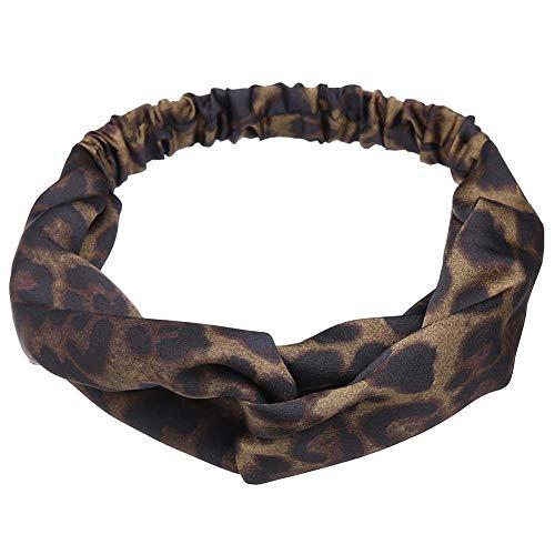 Tding Brede hoofdband fluwelen hoofdband retro gedraaide hoofdtooi meisje haar accessoires