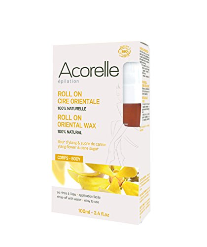 Acorelle Epilation Biologique Roll On Cire Orientale Ylang 100 ml