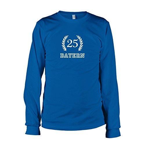 Texlab - Bayern 25 - Langarm T-Shirt, Herren, Größe XL, Marine
