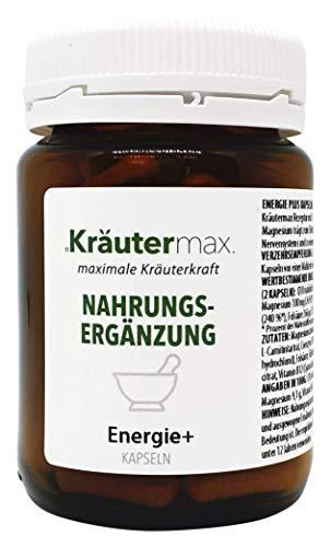 Kräutermax Cápsulas energéticas 1 x 75 piezas. Para todas las células