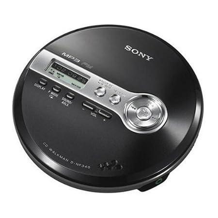 Sony Walkman D Nf 340 B Tragbarer Mp3 Cd Player Mit Fm Tuner Schwarz Audio Hifi