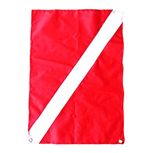 Buceador De Poliéster De Rendimiento Bandera De Bajada Bandera De Barco De Kayak Marcador Señal De Seguridad