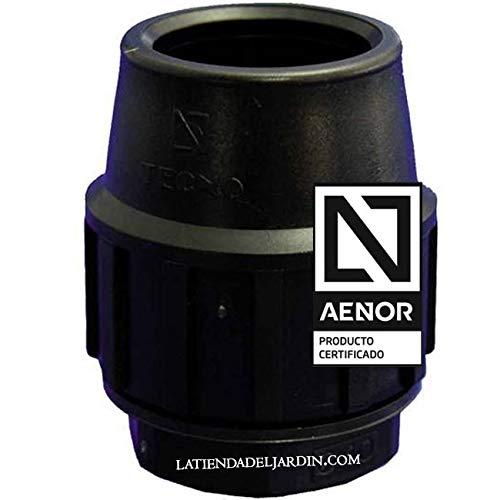 Suinga TAPON FINAL POLIETILENO 25MM. Producto con certificado AENOR utilizado para taponar tuberías PE 25 mm