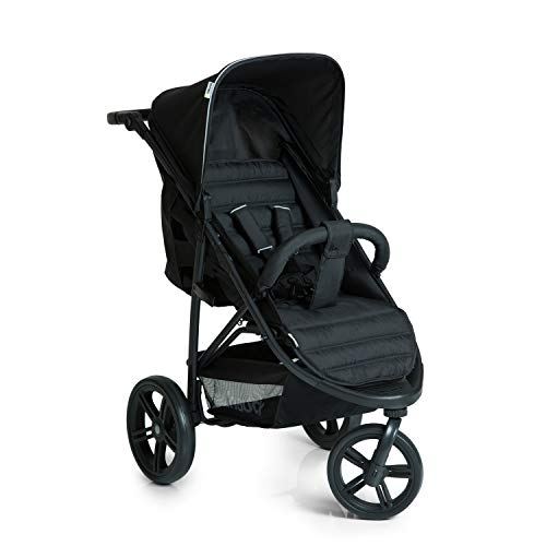 Hauck Rapid 3 Wheel Pushchair up to 25 kg with Lying Position from Birth, Small Foldable with One...