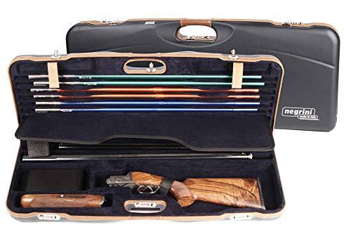 Negrini OU Deluxe High Rib Skeet 2 Barrel Shotgun Case + Tube Set – 1652LX-TUBE/5212