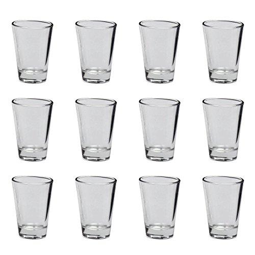 Leonardo 012663 'Ciao' Schnaps Wodka Stamper, Glas, 70ml, H 7cm, klar (12 Stück)