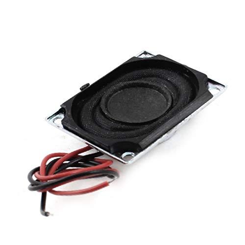 New Lon0167 Altoparlante magnetico da 1,5 W 8 Ohm Musica Player con cavo magnetico da 27 mm x 20 mm(1,5 W 8 Ohm Musica Player Magnetischer Magnetlautsprecher 27 mn x 20 mn mit Kabel