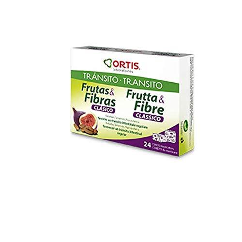 Ortis Cubos Masticables Frutas y Fibras - 24 Unidades