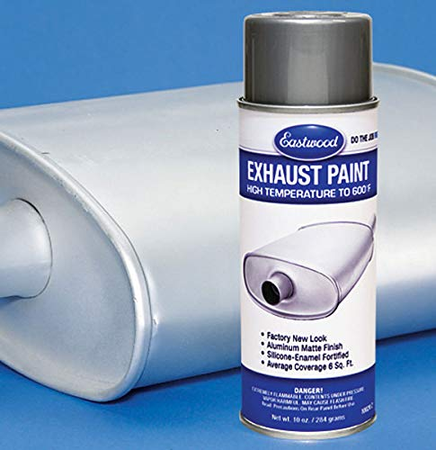 Eastwood Acrylic Exhaust Aluminum Silver Color Lacquer Exhaust Paint Aerosol
