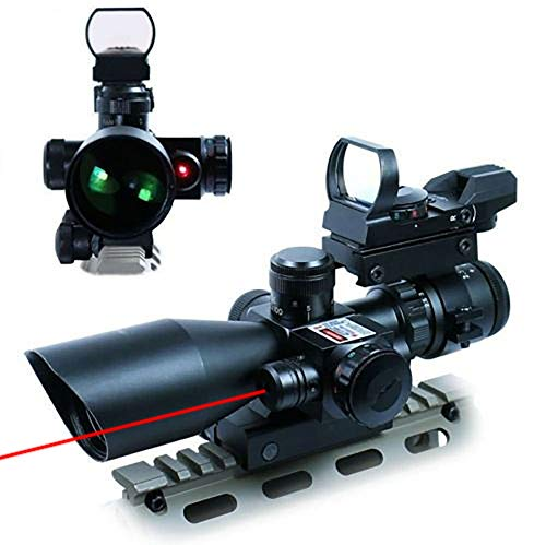 UUQ 2.5-10×40 Tactical Rifle Scope – Comes with Dual Illuminated Mil-dot Technology!
