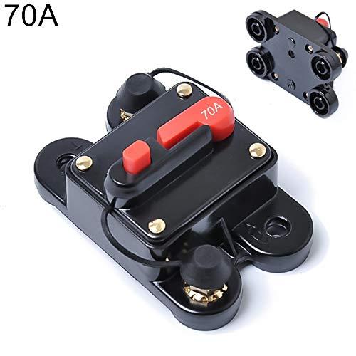 Standaard SUS 70A DC 12-24V Car Audio Stereo Circuit Breaker Aardlekautomaat Holder Marine