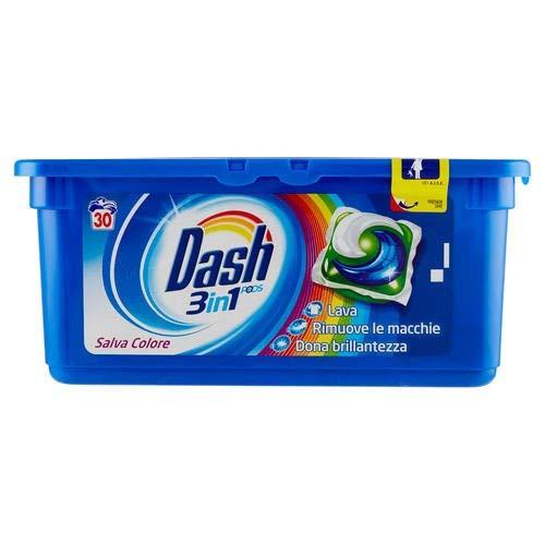 Dash Detergente Lavadora de monodosi Salva Color 3in130lavados