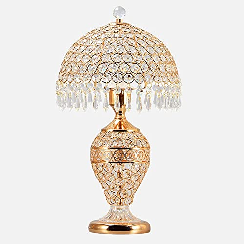 Crayom 鈥嬧€婨uropese tafellamp luxe hotel bureaulamp slaapkamer bedlampje woonkamer glas kristal bruiloft decoratie…