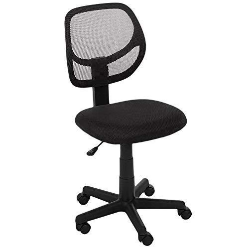 AmazonBasics Low-Back Armless Office Chair