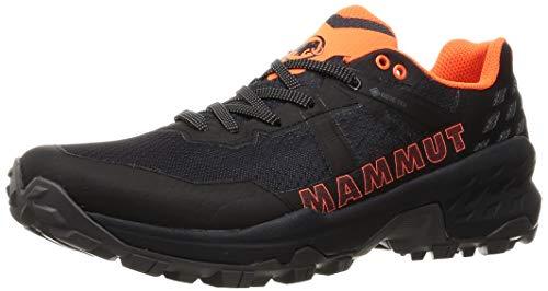 Mammut Sertig II Low GTX, Scarpe da Trekking Uomo, Black Vibrant Orange, 45 1/3 EU