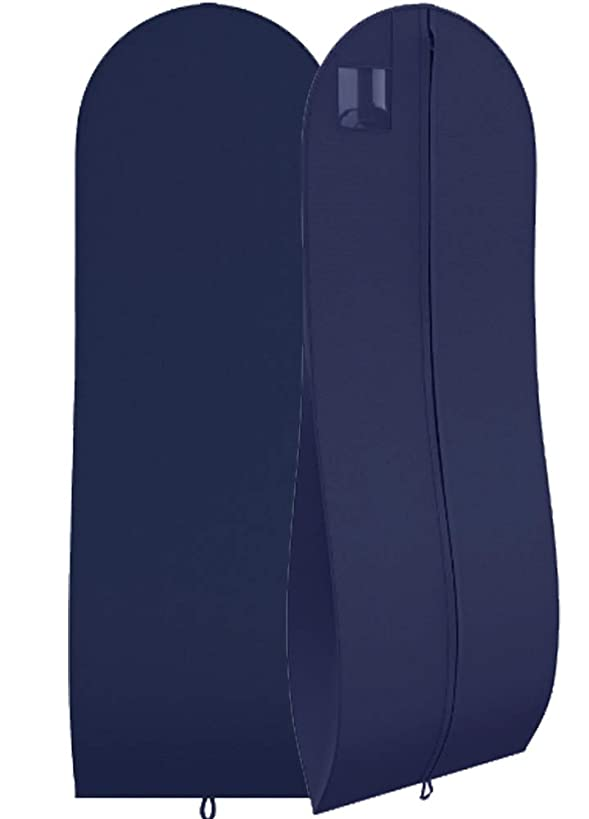 """Women's Dress and Gown Garment Bag -72""""x24"""" and 10"""" Tapered Gusset -Your Bags"""