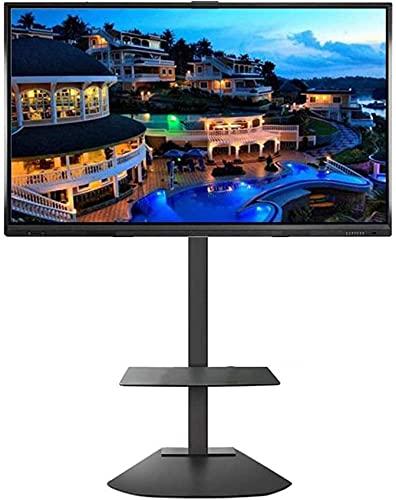 CCAN Soporte de Pared para Soporte de TV Soporte de TV Universal con Almacenamiento, televisores Planos OLED de Plasma/LCD/LED de 32/40/42/43/49/50/55/60/65/70 Pulgadas, Soporte de TV de 70 kg de