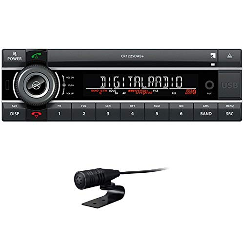 Axion Autoradio CR 1225 DAB + (CD/SD/USB/MP3/BT/DAB +)
