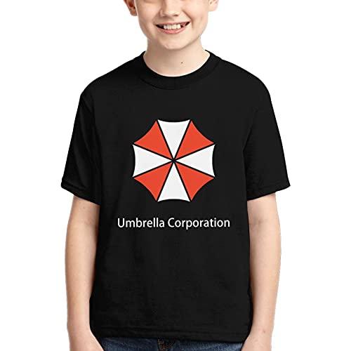 Umbrella Corporation Kurzarm Kinder T-Shirt für Jungen Mädchen 3D Print T-Shirt