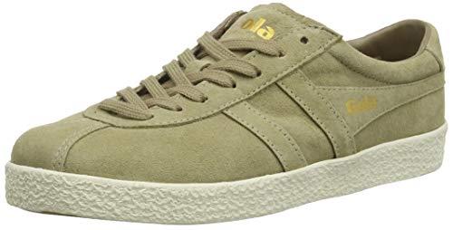 Gola Damen Trainer Suede Sneaker, Braun (Cappuccino/Off White LF), 40 EU
