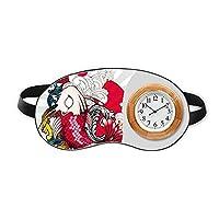 日本美術の魚の恋模様 睡眠時計旅行昼休み眼帯